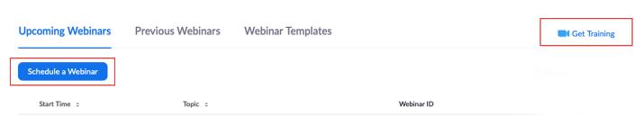 hướng dẫn sử dụng zoom webinar: lên lịch tổ chức hội thảo trực tuyến trên Zoom Webinar