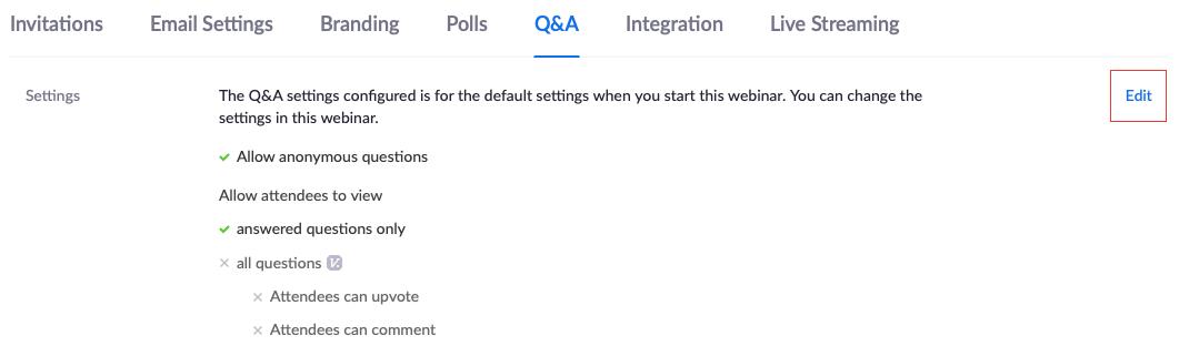 hướng dẫn sử dụng zoom webinar: Q&A trên zoom webinar