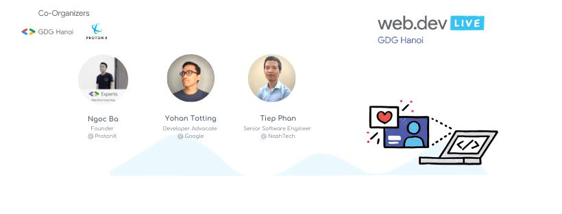 "Google Developer Group Hanoi lựa chọn Zoom tổ chức hội thảo trực tuyến ""WEBDEV Vietnam"""