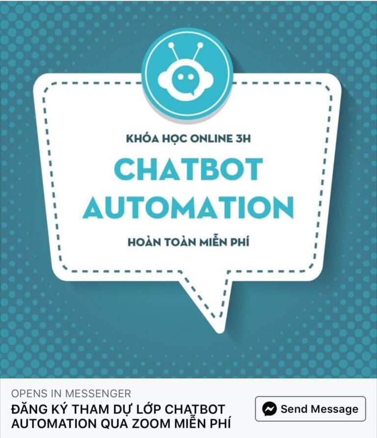 Fchat lựa chọn Zoom Meeeting để tổ chức khoá học Chatbot miễn phí
