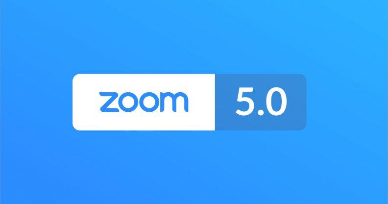 Zoom update 5.0