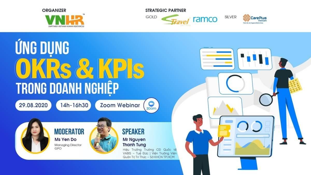 """Câu lạc bộ nhân sự Việt Nam lựa chọn Zoom làm nền tảng tổ chức hội thảo trực tuyến """"Ứng dụng OKRs và KPIs trong doanh nghiệp"""""""