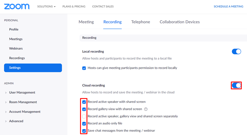 Cloud-recording-Zoom